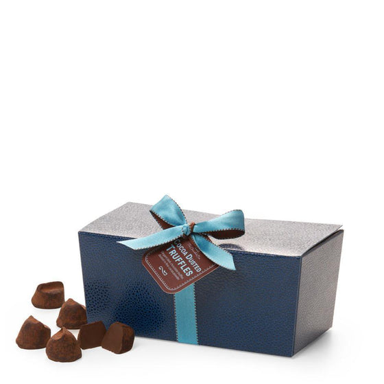 Cocoa Dusted French Truffles, Dark Chocolate Gift Box 200g