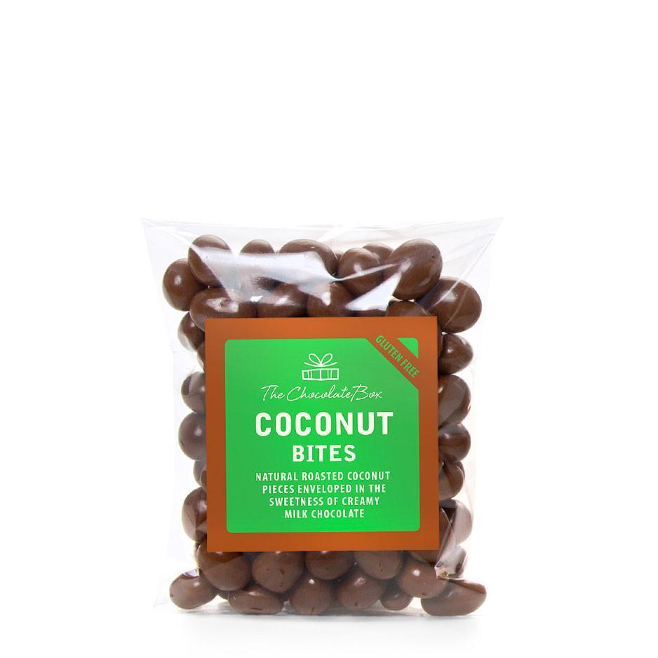 Coconut Bites, Milk Chocolate 200g Bag