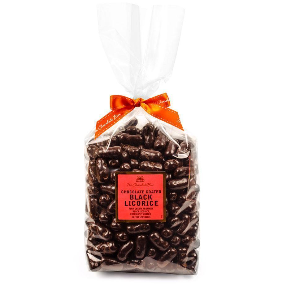 Licorice Logs, Dark Chocolate 1kg Bag