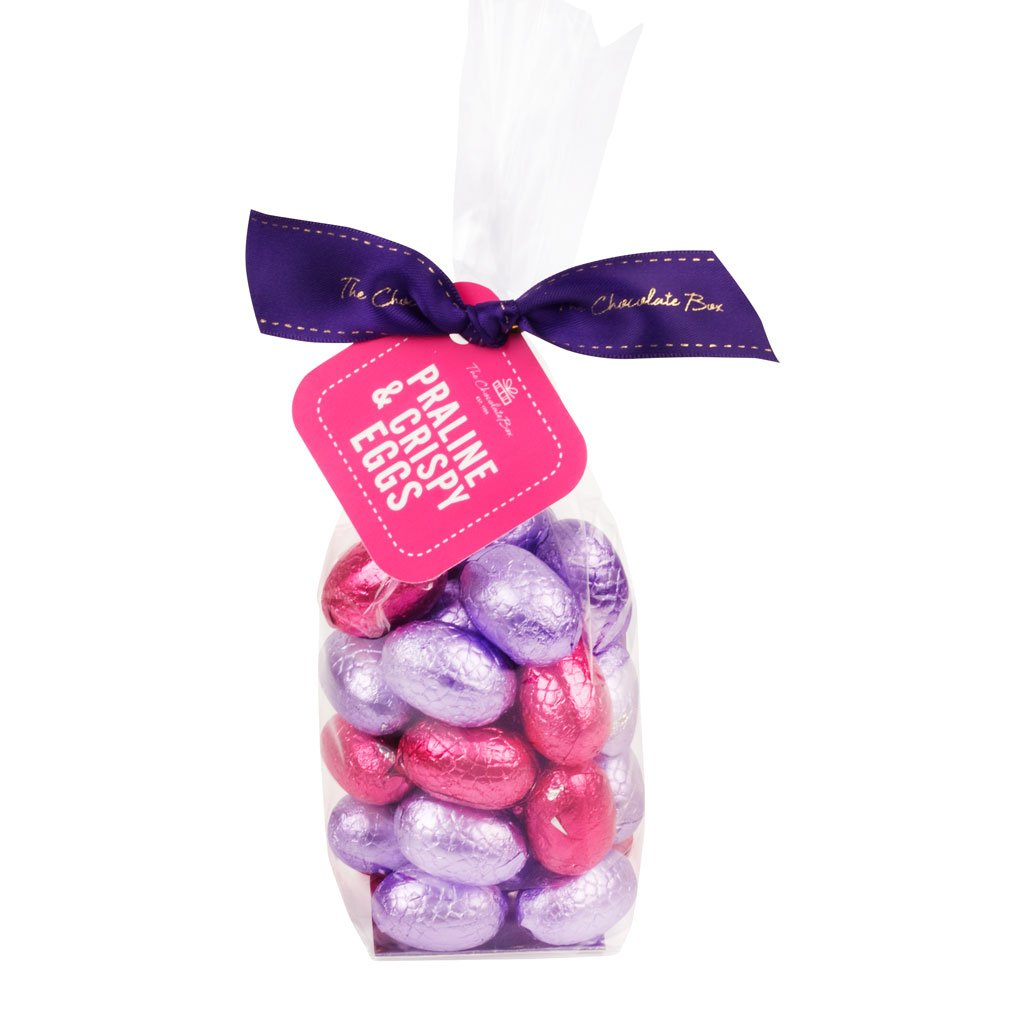 Praline and Crispy Chocolate Eggs 200g