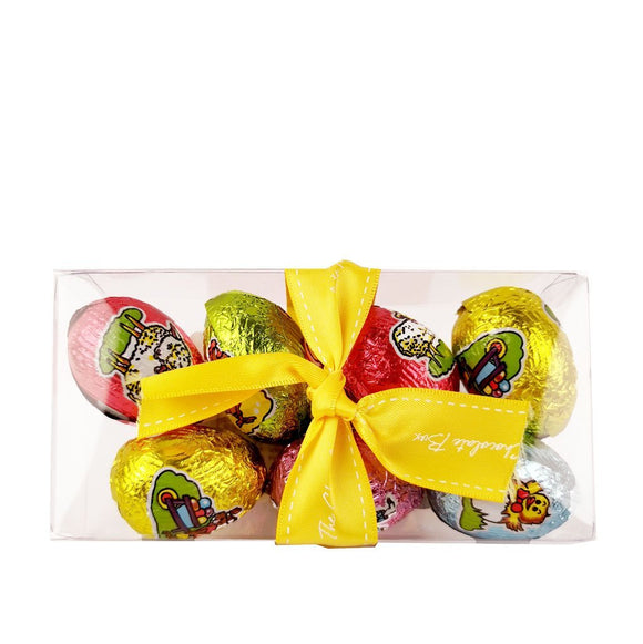 Milk Chocolate Brightly Foiled Eggs 7 Piece Box