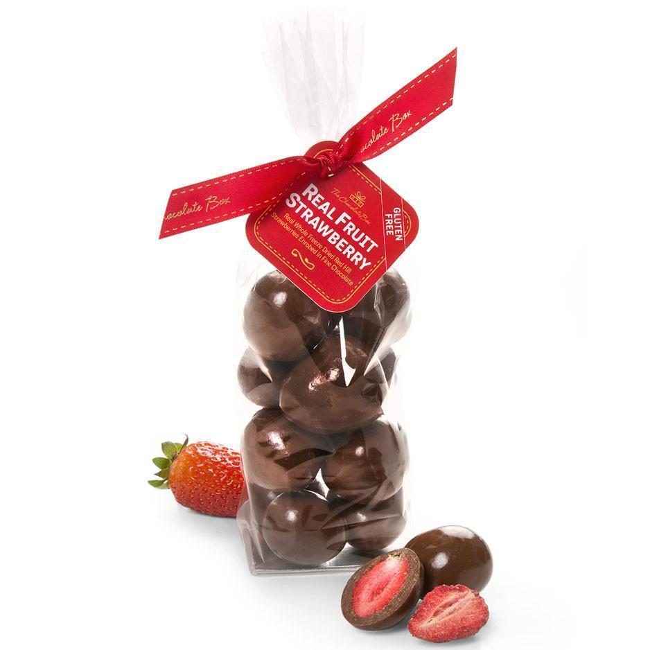 Freeze Dried Strawberries, Milk Chocolate 170g