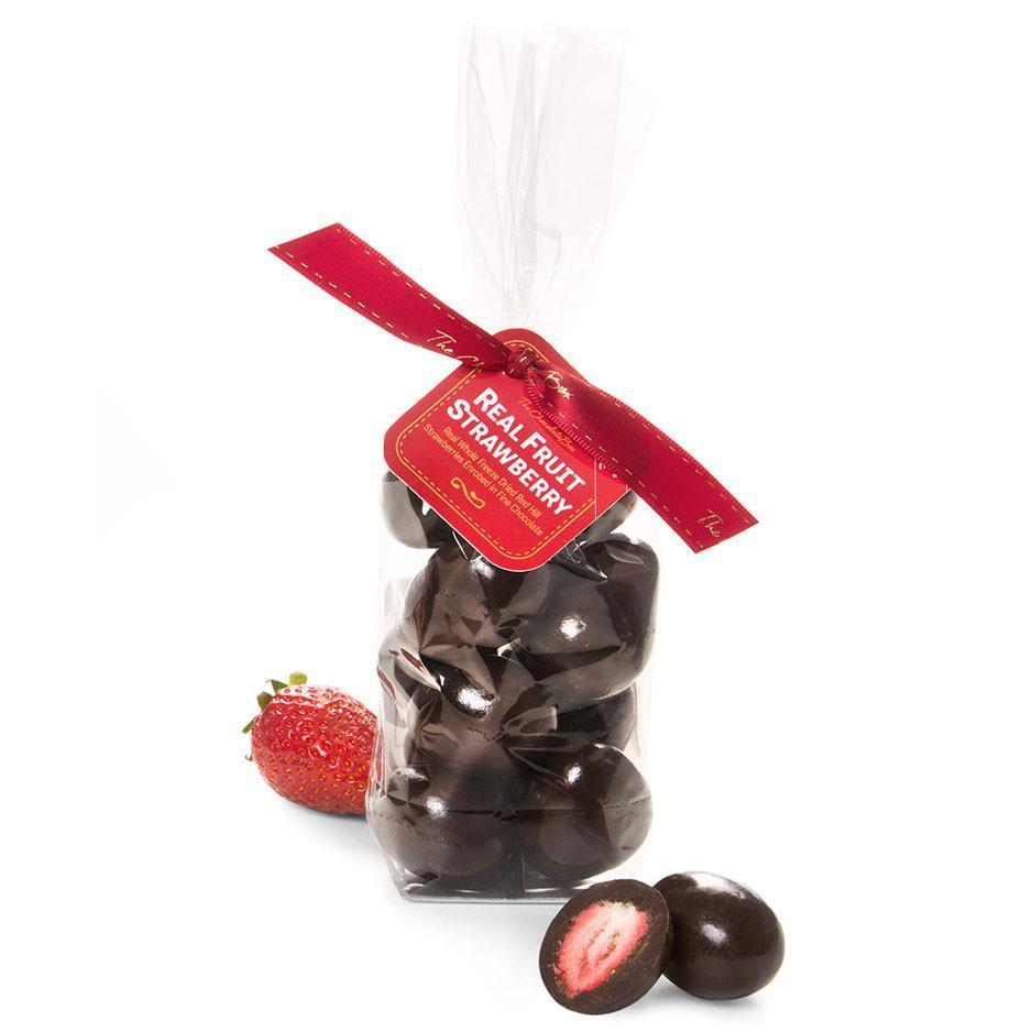 Freeze Dried Strawberries, Dark Chocolate 170g