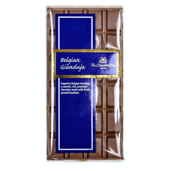 Gianduja Block, Belgian Milk Chocolate 100g