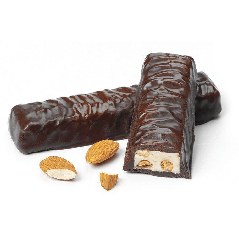 Nutty Honey Nougat Chocolate Bar, Dark Chocolate 2-pack 90g