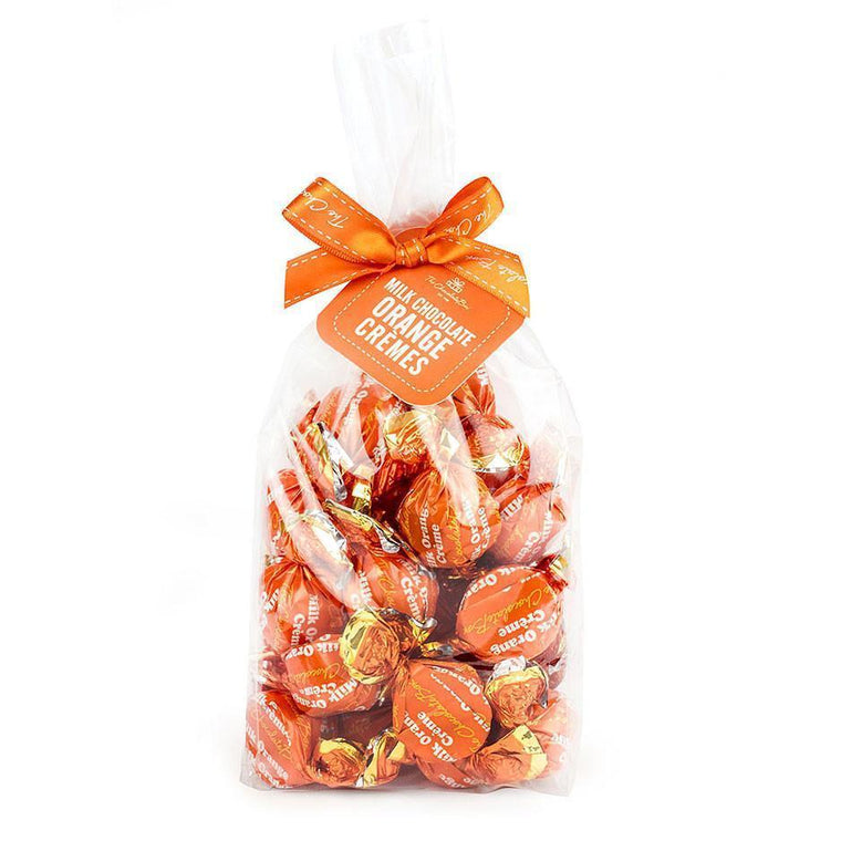 Milk Chocolate Orange Creams, 350g Bag
