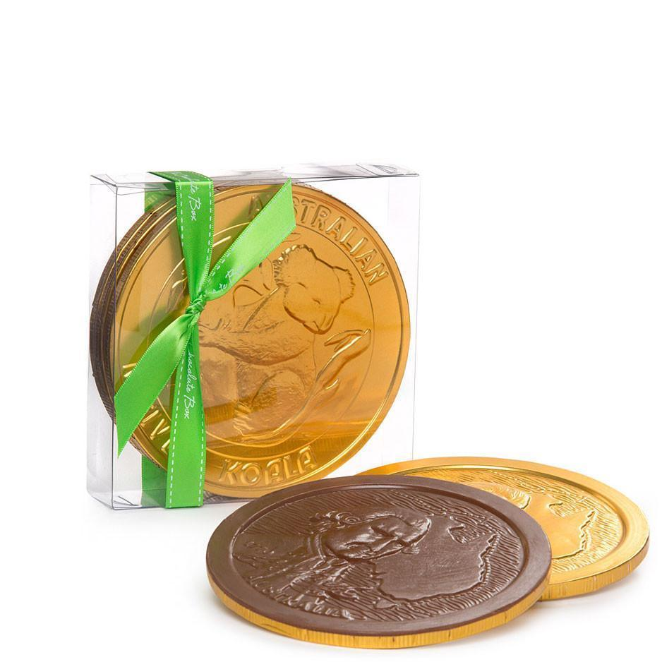Gold Medallions, Extra Large, 3 Pack Milk Chocolate 300g Box