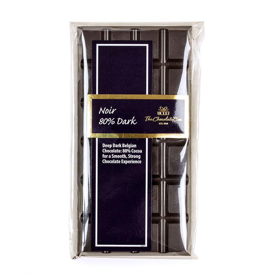 Noir Block, 80% Dark Chocolate 100g