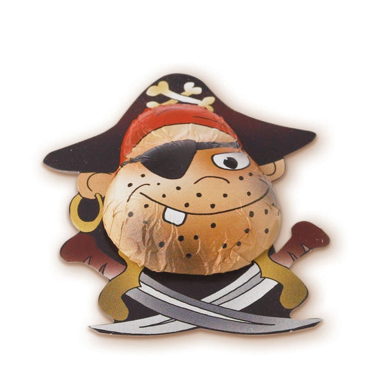 Chocolate Novelty Pirates, Milk Chocolate (Pack of 5)