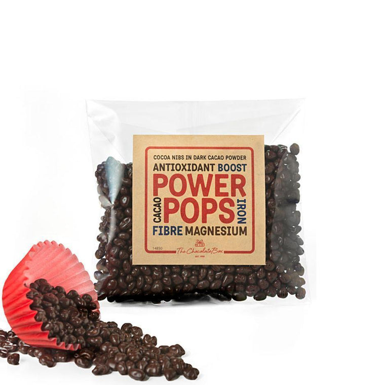 Power Pops Cacao Nibs 65g