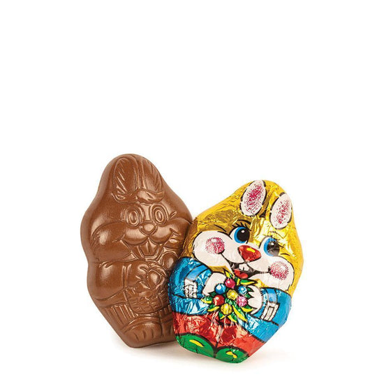 Easter Bunnies, Foiled Milk Chocolate (20g, Bulk)
