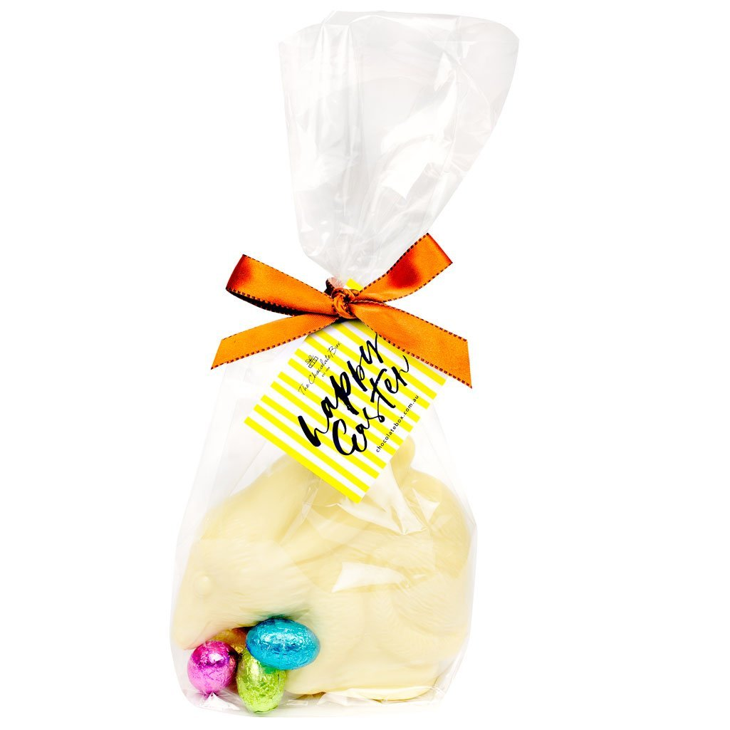 White Chocolate Bilby with Mini Eggs 190g