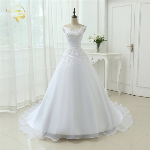 Vestido De Noiva Beach Wedding Dress Casamento A line Cap Sleeves Robe De Mariage Vintage Boho Lace Wedding Dresses 2017 OW 7800