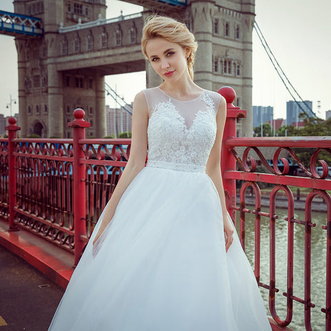 high quality real photos nice wedding dress Ball Gown customer order 2017 new