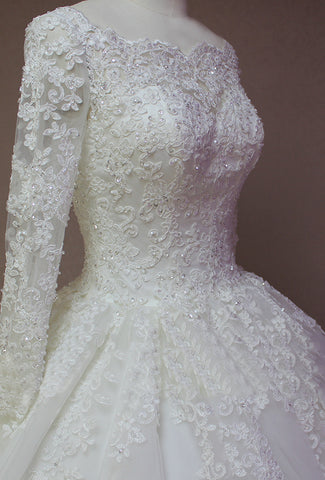 Wedding Dress With Long Sleeve