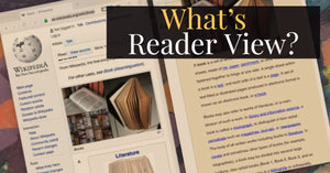 What's Reader View?