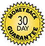 Money back Guarantee Badge Graphic