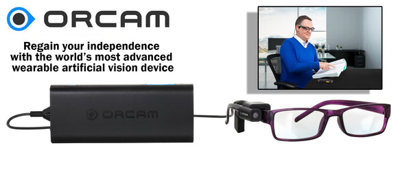 Orcam Wearable Artificial Vision Device