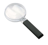Large Field Biconvex Hand-held Magnifier