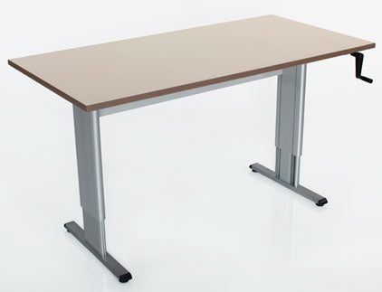 Accella Adjustable Activity/Computer Table