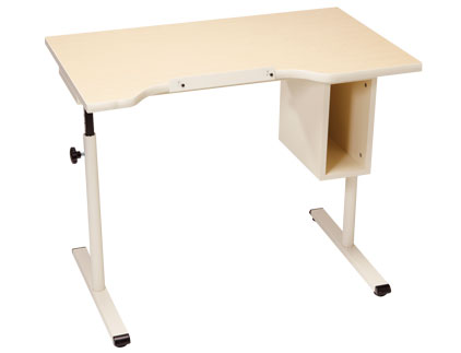 Adjustable Student Desk with Storage