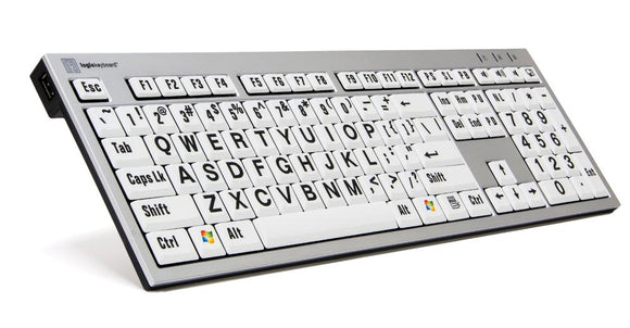 Image of Slim Line PC Large Print Keyboard