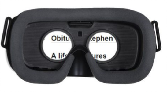 Mercury Vision : Wearable Magnifier with Speech