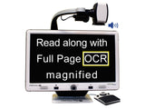 Read along with full page OCR Magnified