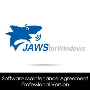 JAWS Professional Software Maintenance Agreement Graphic