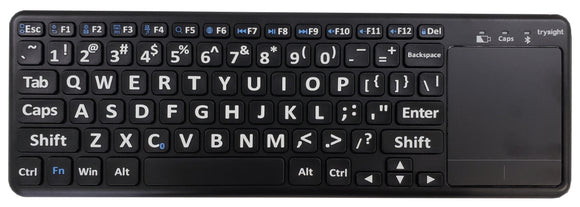 TrySight Bluetooth Large Print Keyboard