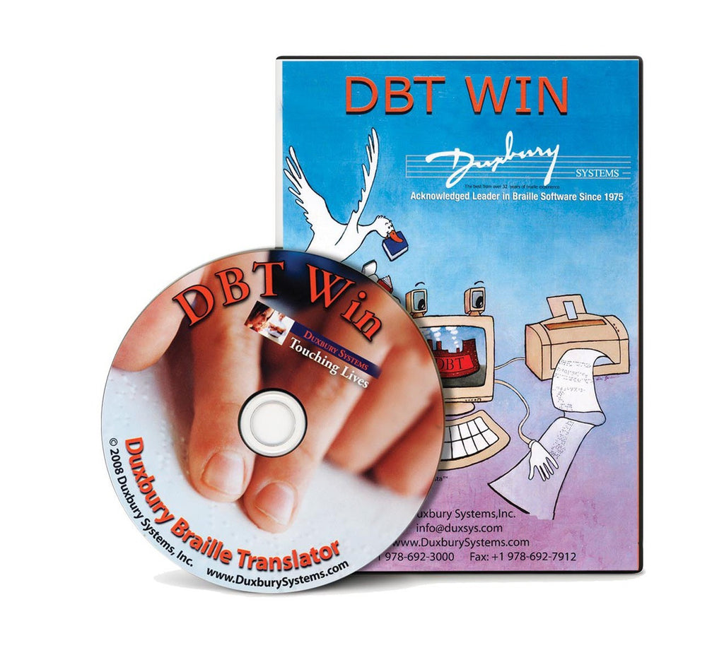 Duxbury for Windows software and case picture