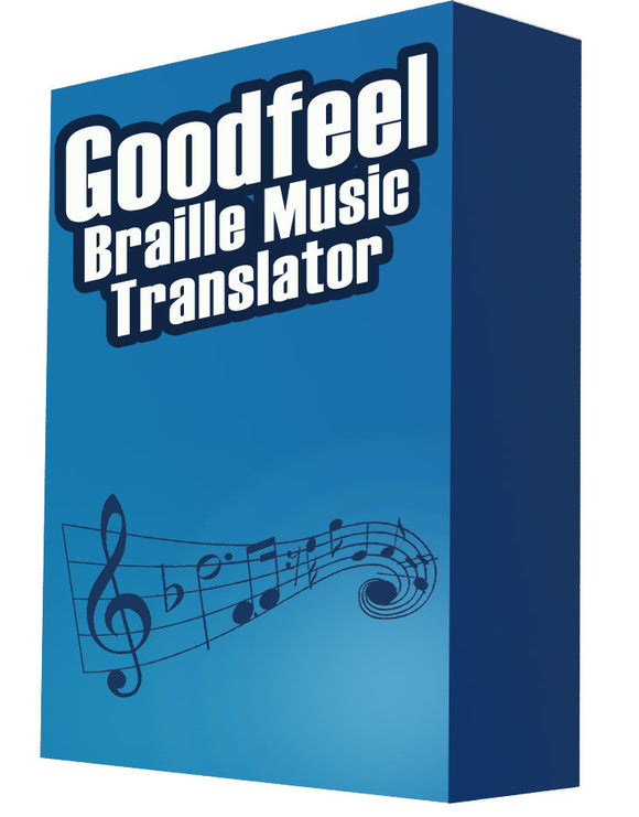 GoodFeel Braille Music Translator