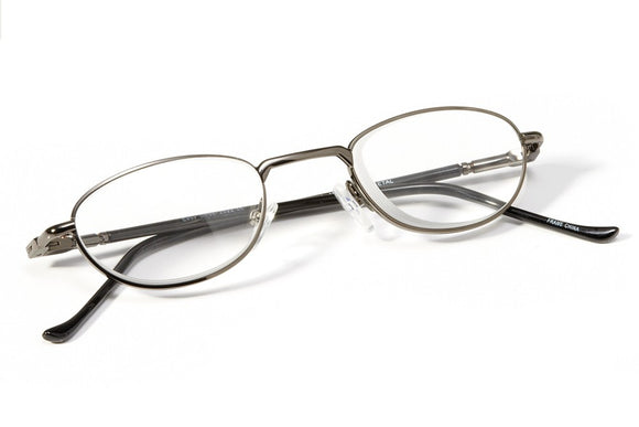 Image of Prismatic Spectacles - Metal Silver Frame
