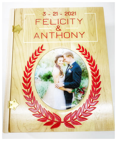 Custom Wedding Memory Book