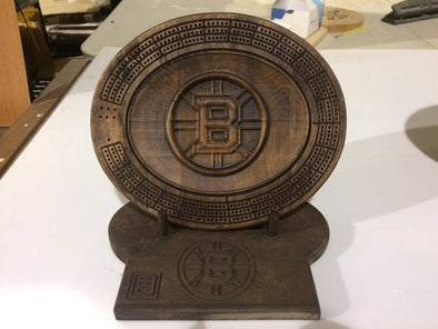 3D Boston Bruins -Display stand optional. - Laser's Edge Design RD