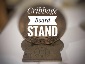 Cribbage Board Stand - Laser's Edge Design RD