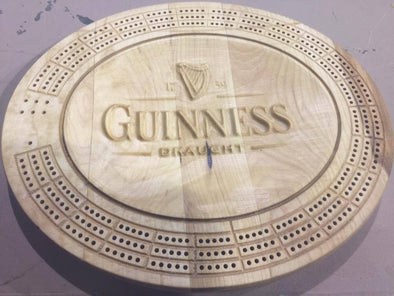 3D Guinness Cribbage Board - Laser's Edge Design RD