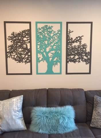 3 Panel Tree of Life - Laser's Edge Design RD