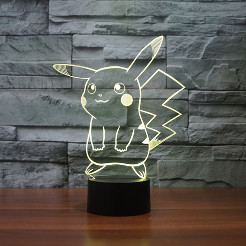Pikachu 3D LED Night Light