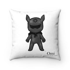 Omi & Luna Square Pillow