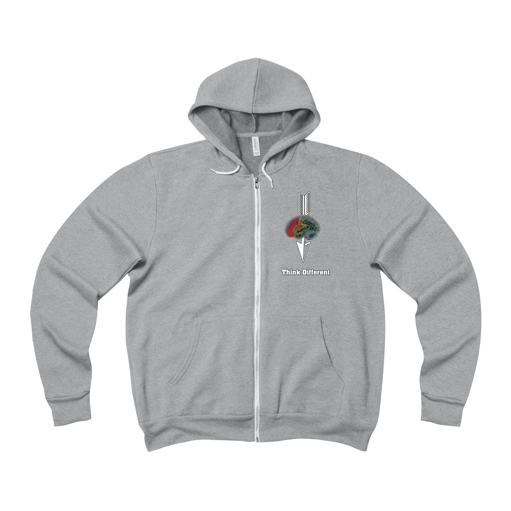 Think Differently Full-Zip Hoodie