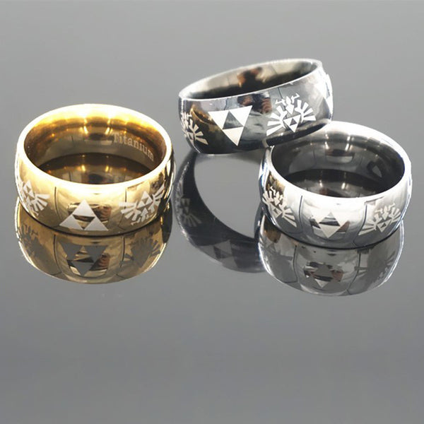 FREE PLUS SHIPPING Zelda Triforce Wedding Ring Free
