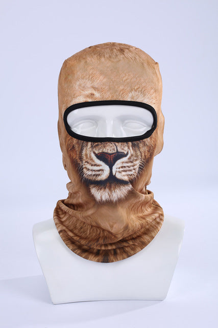 Animal Ski Mask Outdoors
