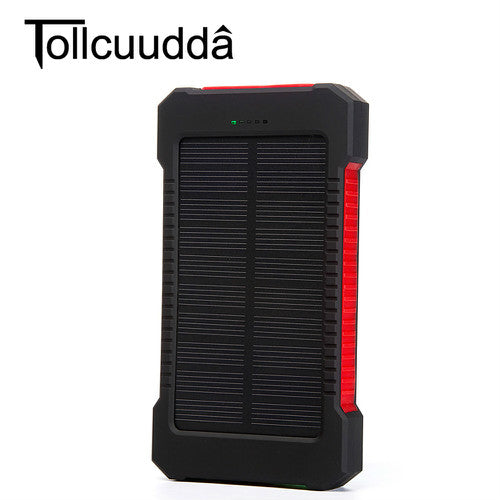Solar Powered Portable Charger Bank