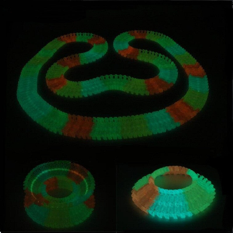 DIY Glow-In-The-Dark Racing Track