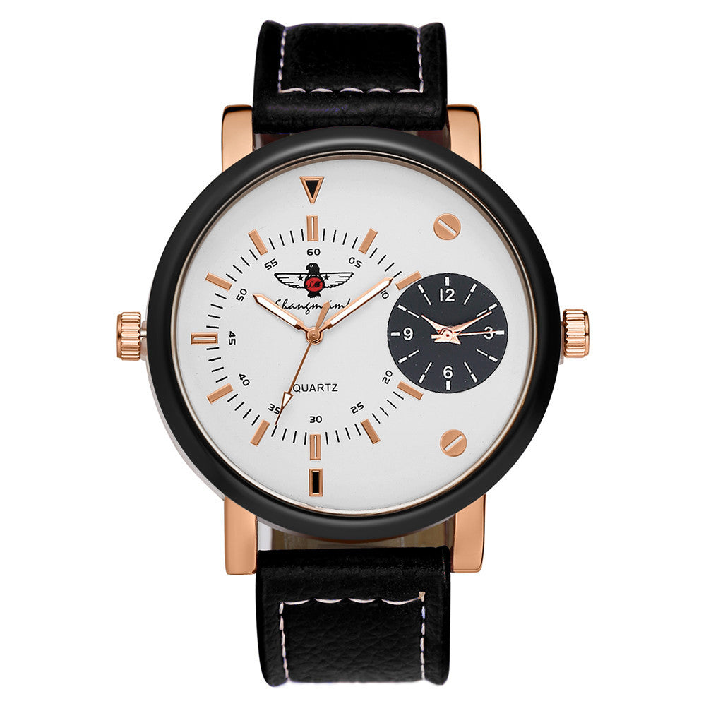 Military Leather Watch