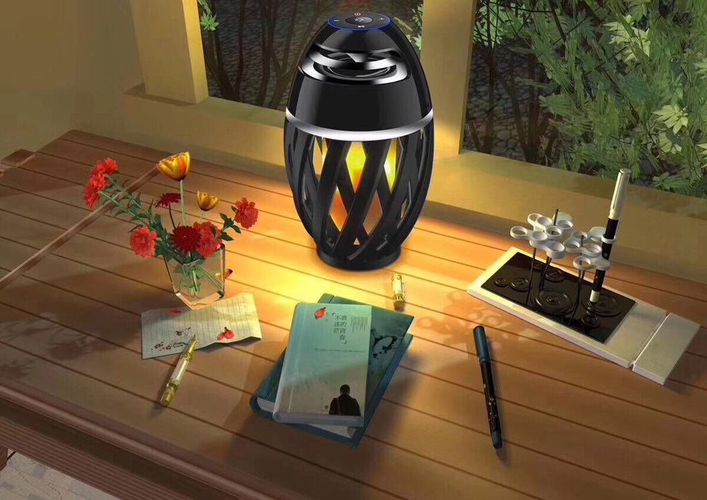 Bluetooth Flame Lamp Speaker