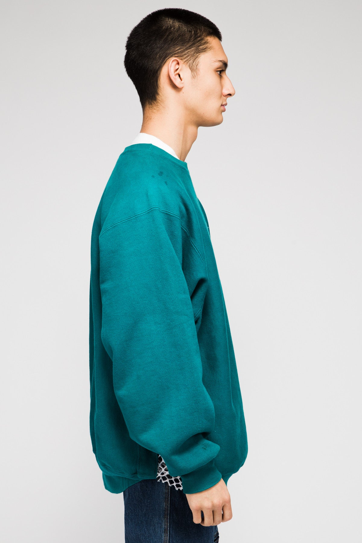 CHAMPION SWEATER IN GREEN LK1