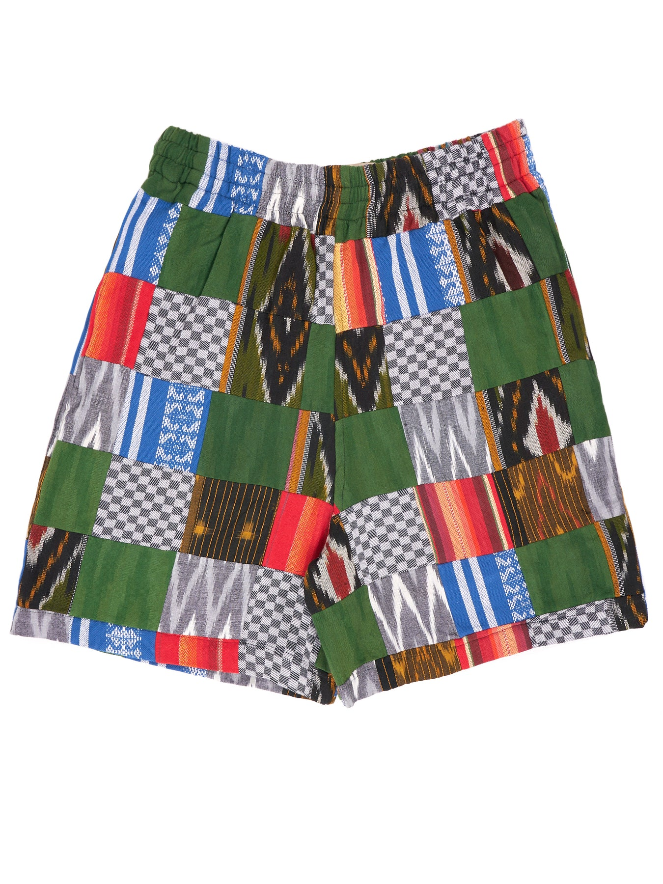 ENSÉ Patchwork Shorts