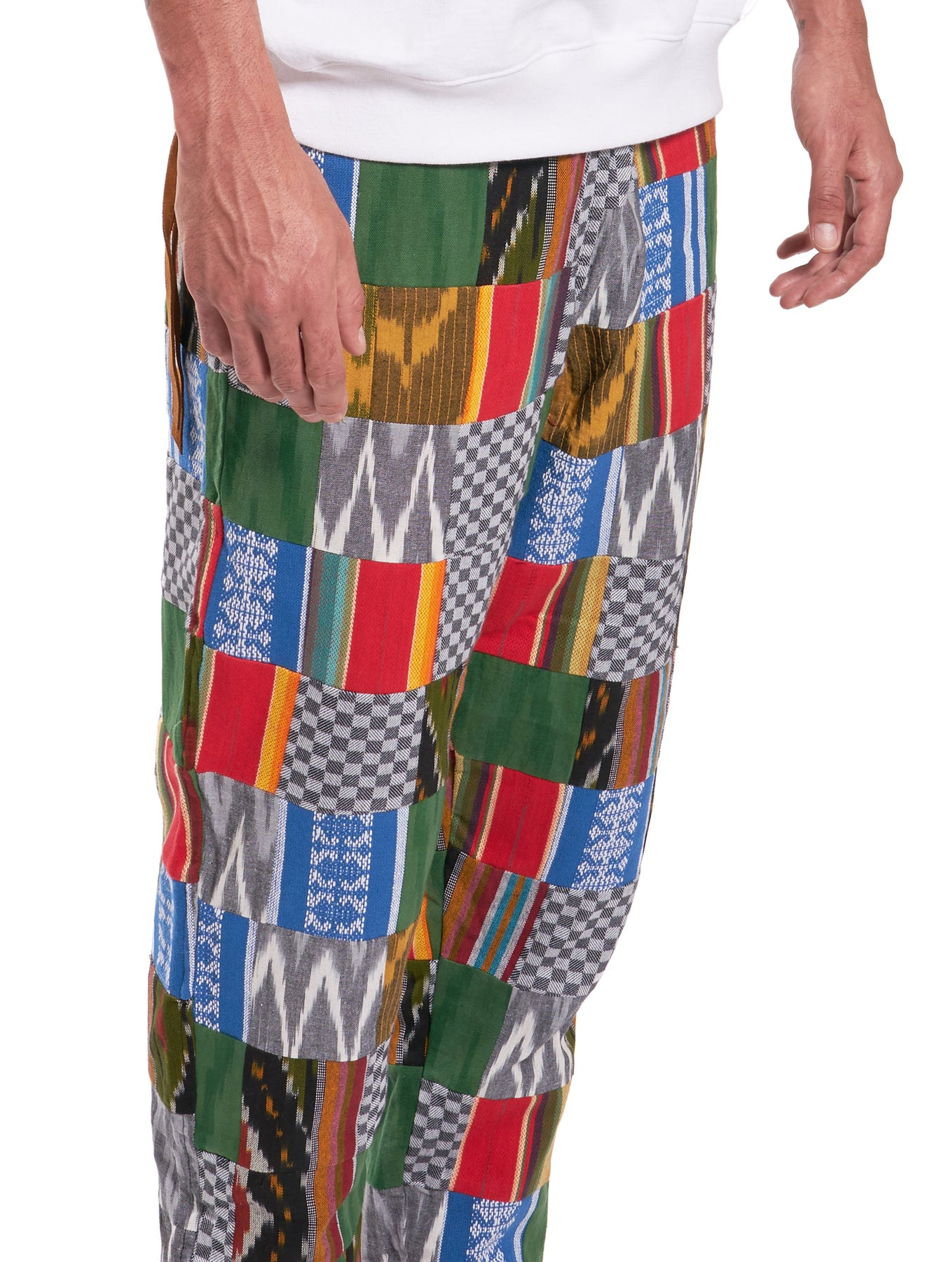 ENSÉ Patchwork Pants